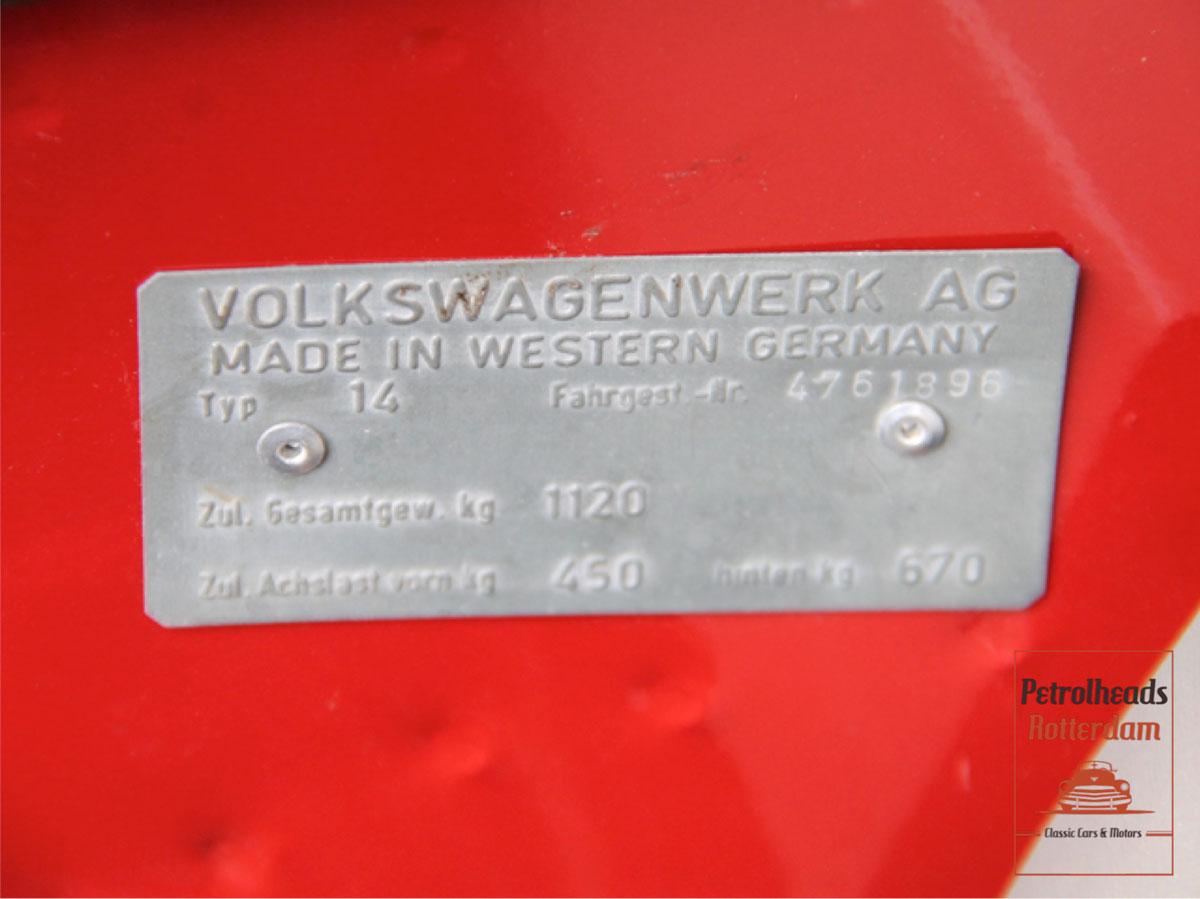 Volkswagen Karmann Ghia - 1963