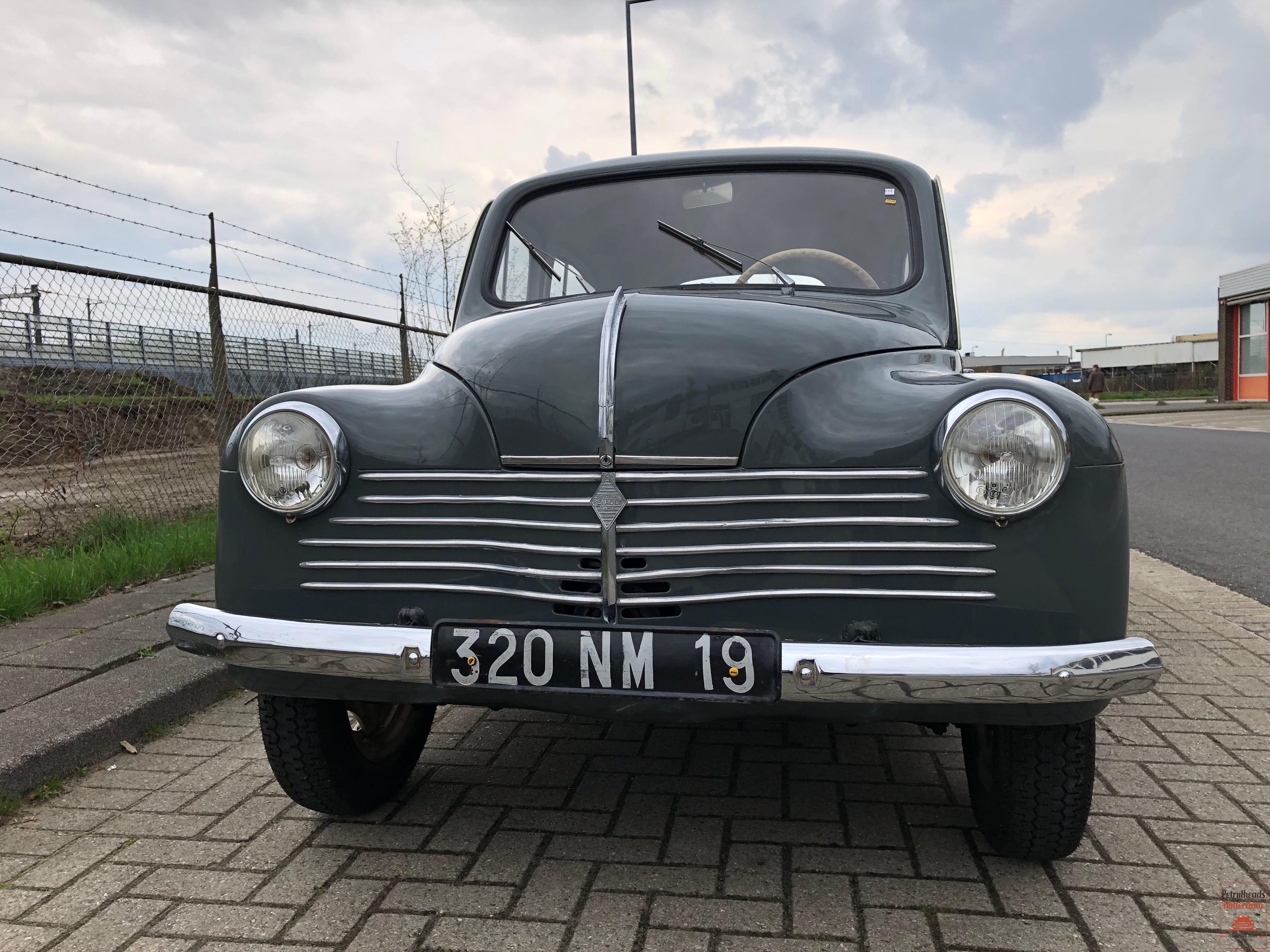 Renault 4CV - 1953 - uit de De Rijke Transport Collectie